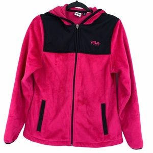 Fila Sport Sweater Fleece Full Zip Small